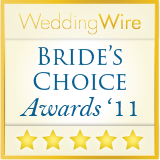 WeddingWire Couple's Choice 2011