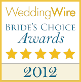 WeddingWire Couple's Choice 2012