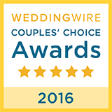 WeddingWire Couple's Choice 2016